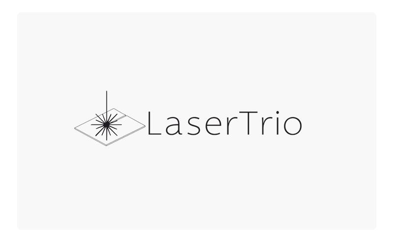 LaserTrio logo